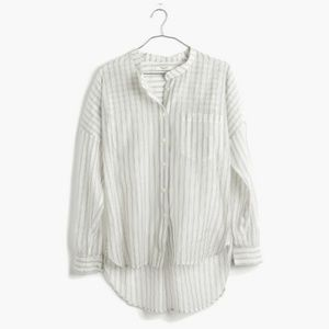 ⬇️ $30 Madewell Atlas Popover Button Down Top